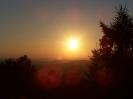 Západ slunce na Benecku-pohled z Vašeho pokoje